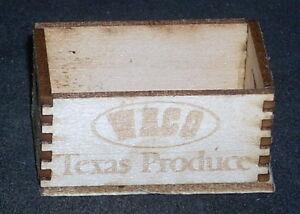 Dollhouse Miniature Bandera Farmers Market Produce Crate 1:12 Grocery Store