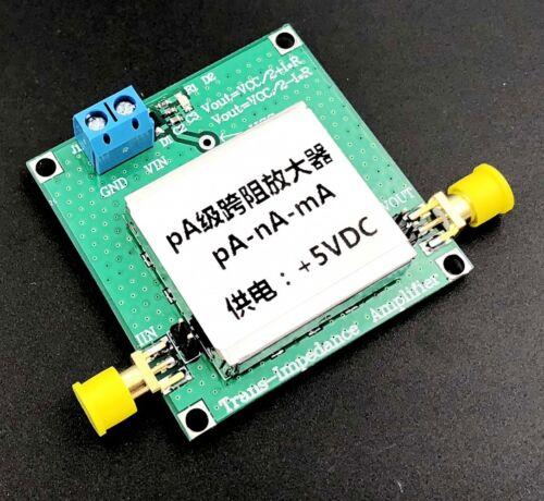 Dual power TIA Transimpedance Weak Current Measurement IV Conversion Preamplifi
