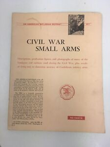 American-Rifleman-Reprint-Civil-War-Small-Arms-NRA-R7-2nd-prt-Carbines-revolvers