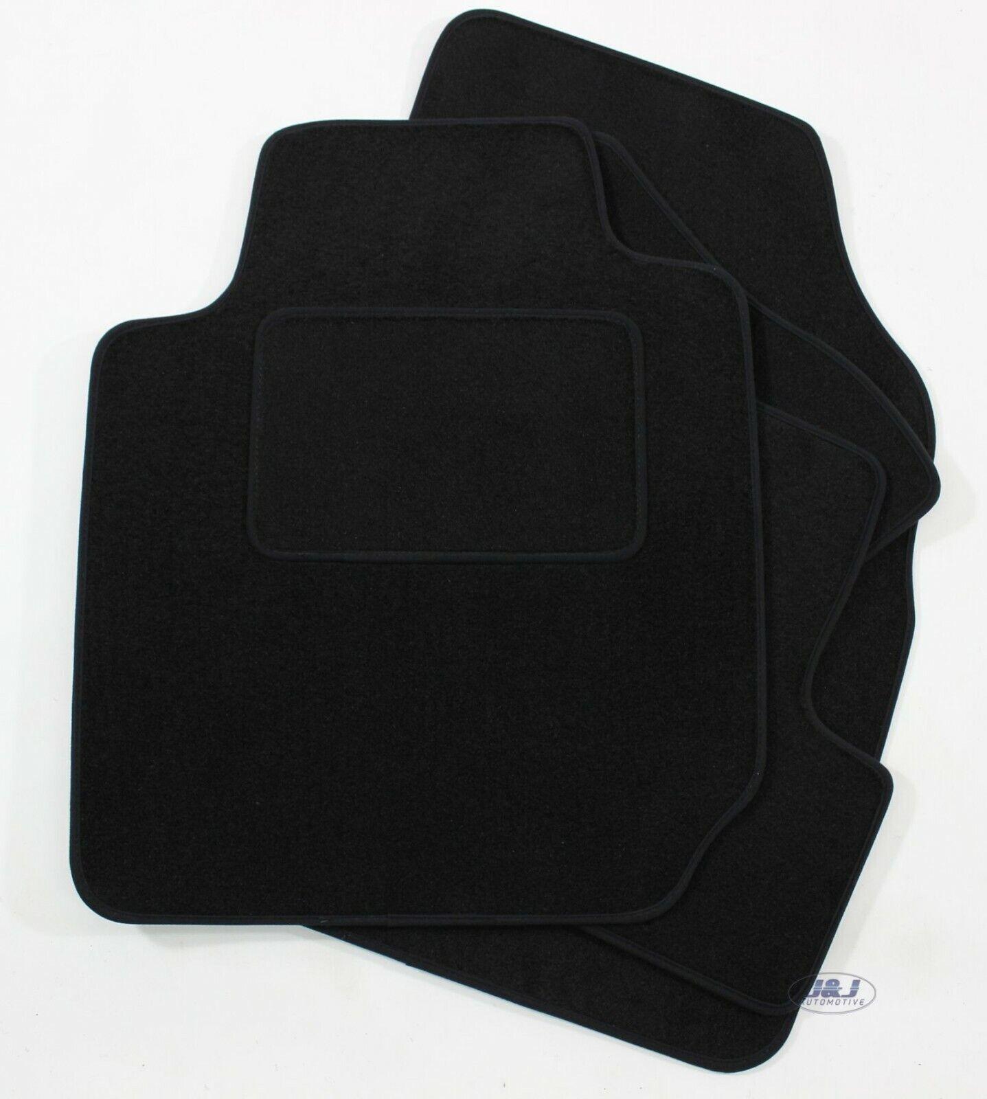 Tapis de Sol Noir Velours Compatible avec Audi 80 B-4 1991-1996 4 pcs J/&J AUTOMOTIVE