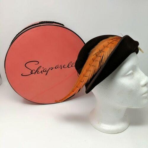 Vintage Elsa Schiaparelli Avant Garde Capulet Hat