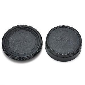 New-Body-Front-Rear-Lens-Cap-Cover-For-Nikon-AF-AF-S-Lens-DSLR-SLR-Camera