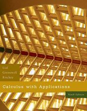 Calculus with Applications by Nathan P. Ritchey, Raymond N. Greenwell and Margar