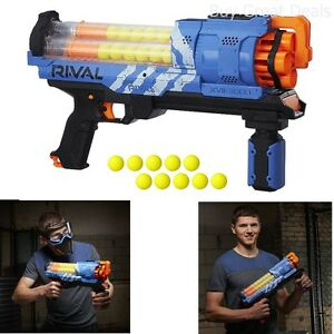 Image is loading Nerf-Rival-Artemis-XVII-3000-BLASTER-Rotating-Barrel-