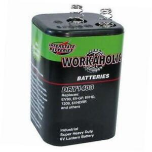 Interstate Batteries Lantern Battery 6v DRY1403