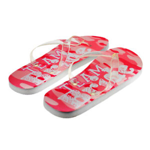 7cbe514f2118 Team Bride Wedding Design Ladies Flip Flops One Size UK Size 4-8 ...