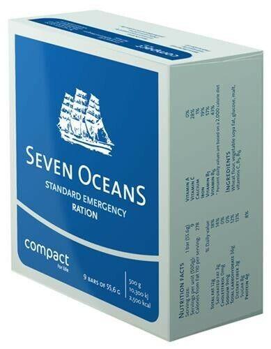 Ración de emergencia Seven Oceans