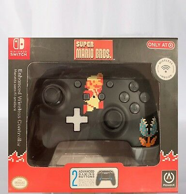 Wireless 8bit Super Mario Nintendo Switch Controller-Target Exclusive*RARE!  NEW 617885019173 | eBay