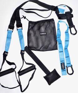 Home-Gym-Suspension-Resistance-Strength-Training-Straps-Workout-Trainer-Bundle