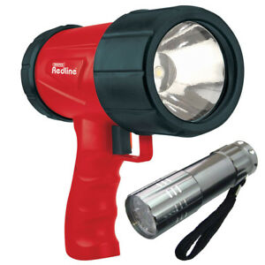 DRAPER-1W-LED-RECHARGEABLE-TORCH-c-w-CHARGERS-48-LUMEN-37-LED-9LED-TORCH
