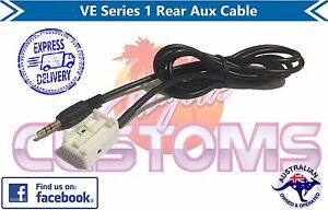 Holden VE Series 1 Rear AUX Cable Plug Commodore V6 V8 HSV E1 E2 SV6 SS SSV WM