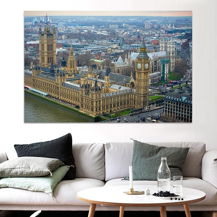 3D Big Ben Landschaftsplan 753 Fototapeten Wandbild BildTapete AJSTORE DE Lemon | Überlegene Qualität  | Merkwürdige Form  | Heißer Verkauf