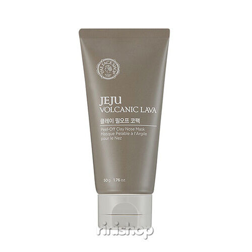 [THE FACE SHOP] JEJU VOLCANIC LAVA Peel-Off Clay Nose Mask 50g Rinishop