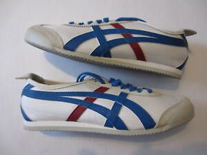 c9df832199c NEW Asics Onitsuka Tiger Mexico 66 mens casual shoes white blue red ...