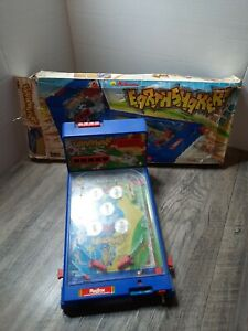 Vintage 1989 EARTHSHAKER WILLIAMS Toy Playtime Table Top Pinball Machine box