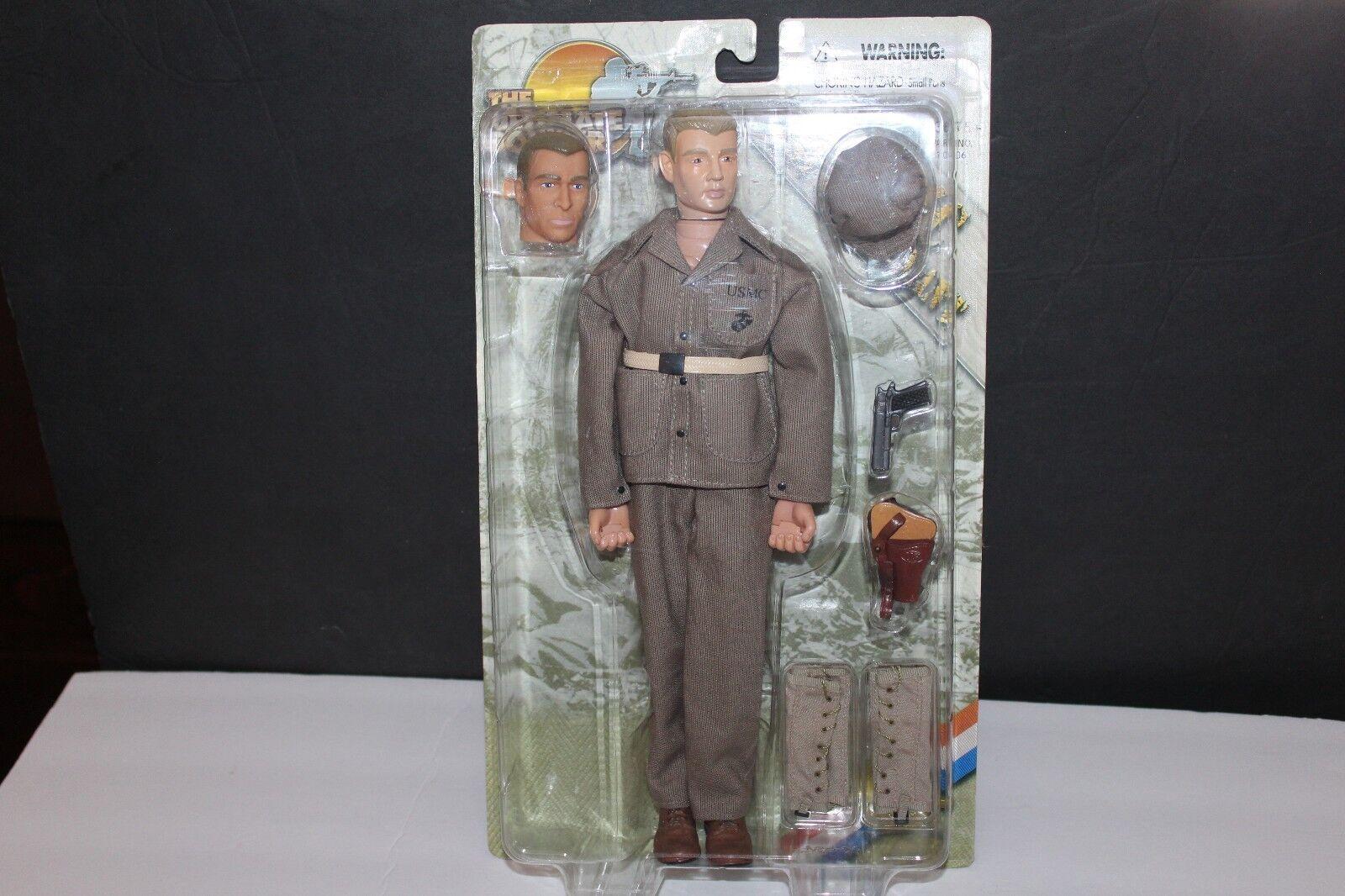 Il Massimo Soldato     U. S. M. C.1st Tenente in Sigillato Card 21st Century Toys dc3dfd