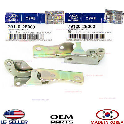 Genuine Hyundai Parts 79120-2H000 Hood Hinge Assembly