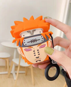 For Apple Airpods Silicone Cartoon Naruto Wireless Bluetooth Earphone Case Cover Ebay