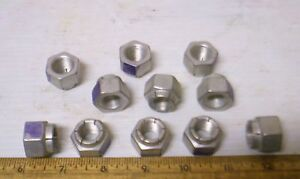 Lot-of-11-Lock-Nuts-NOS