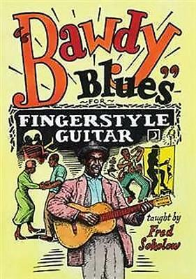 Fred Sokolow Bawdy Blues For Fingerstyle Guitar DVD NEW!