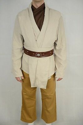 OBI Wan Kenobi Jedi Tunic Costume star wars props accessories