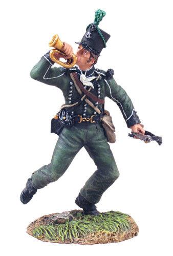 BRITAINS BRITAINS BRITAINS SOLDIERS 36045 British 95th Rifles Bugler 07aec9