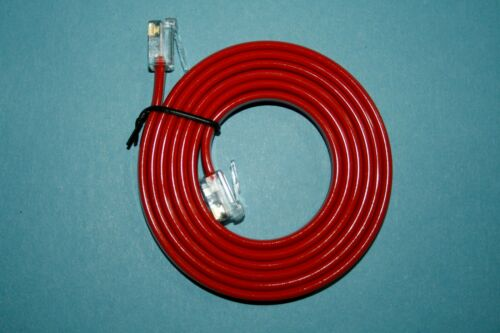20CM-1M RED SKY BT ADSL+INFINITY FIBRE OPTIC RJ11 TO BROADBAND ROUTER CABLE LEAD