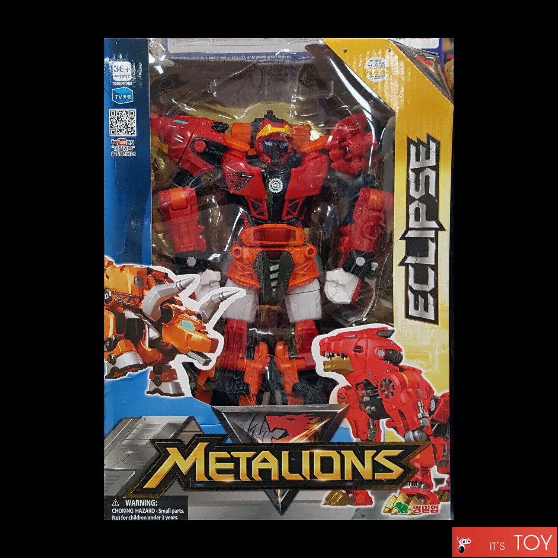 Metalions Eclipse Leo Taurus Transformers Robot Figure set  grande taille jeune Toys  coloris étonnants
