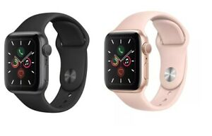 Apple-Watch-Series-5-40mm-GPS-4G-GSM-Smart-Watch-Aluminum-Case-with-Sport-Band