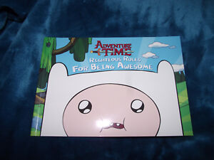 BRAND-NEW-Book-Cartoon-Network-Adventure-Time-Righteous-Rules-for-Being-Awesome