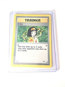 ERIKA-Gym-Heroes-100-132-Rare-Trainer-Pokemon-Card-EXC-NM