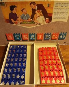 Vintage-Stratego-Wooden-Replacement-Game-Pieces-Milton-Bradley-1962-3-each