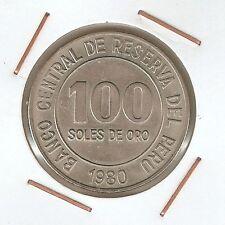 Perú: 100 Soles de Oro 1980 UNC