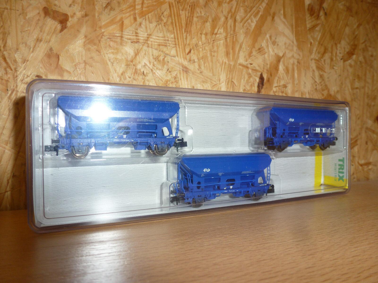 TRIX, 15089 Güterwagen-Set  Seitenentladewagen   | Erste Gruppe von Kunden