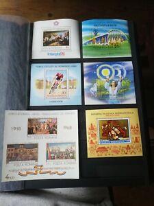 RUMÄNIEN Sammlung 6 Blöcke postfrisch Block kleine Blocksammlung MNH
