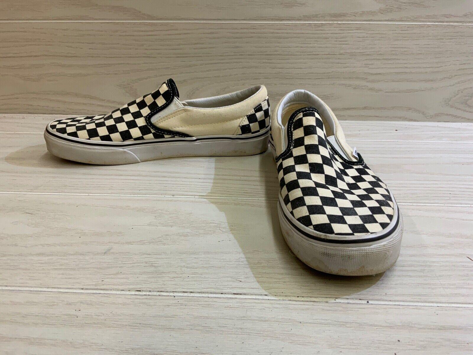 Vans Classic Slip-On, Men's 8.5 / Women's 10 , Checkerboard