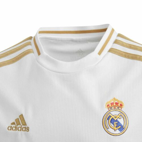 SOCCER YOUTH REAL MADRID HOME JERSEY LONG SLEEVE #LongSleave #RealMadrid #Youth