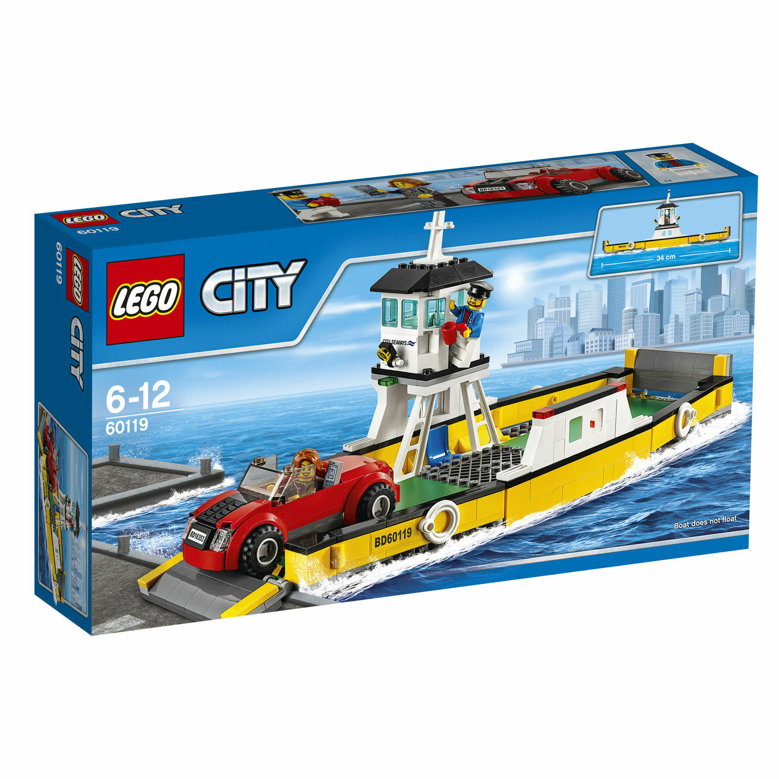 LEGO ® City traghetto Ferry (60119) NUOVO NEW