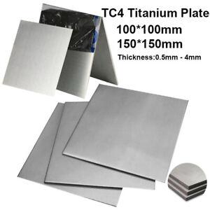 Details about TC4 Titanium Plate Alloy Grade 5 Panel Metal Sheet 0 5mm 0 8  1 1 5 2 2 5 3 4mm