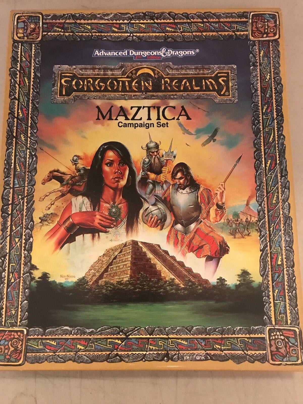 Dungeons & Dragons Forgotten Realms  Maztica   1066 Campaign Set
