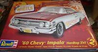 Revell 1960 Chevy Hardtop Impala Lowrider 1/25 Model Car Mountain