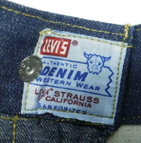 Vintage Levis Sanforized Denim Jeans Womens 23x31