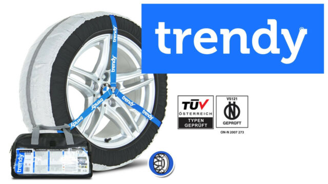 CHAINES NEIGE TEXTILES TRENDY N°36S / AUTO SUV 4x4 UTILITAIRES CAMPING CAR