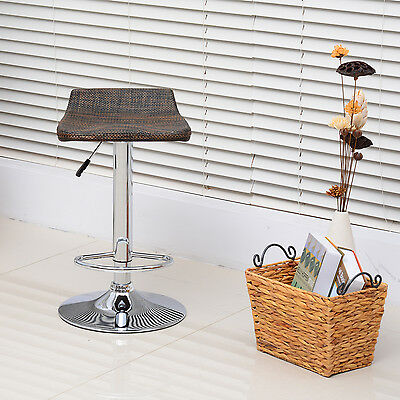 Barstools 360 Degree Bar Stool Chair Pub Chair Height Adjustable Rattan Style
