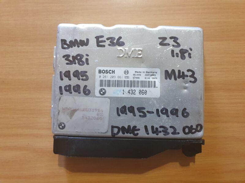 BMW E36 318i M43 1995-2006 Bosch ECU part # DME 1 430 060