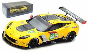 Spark S5832 Corvette C7r 'corvette Racing Gm' # 64 Le Mans 2017 - Échelle 1/43 9580006958327