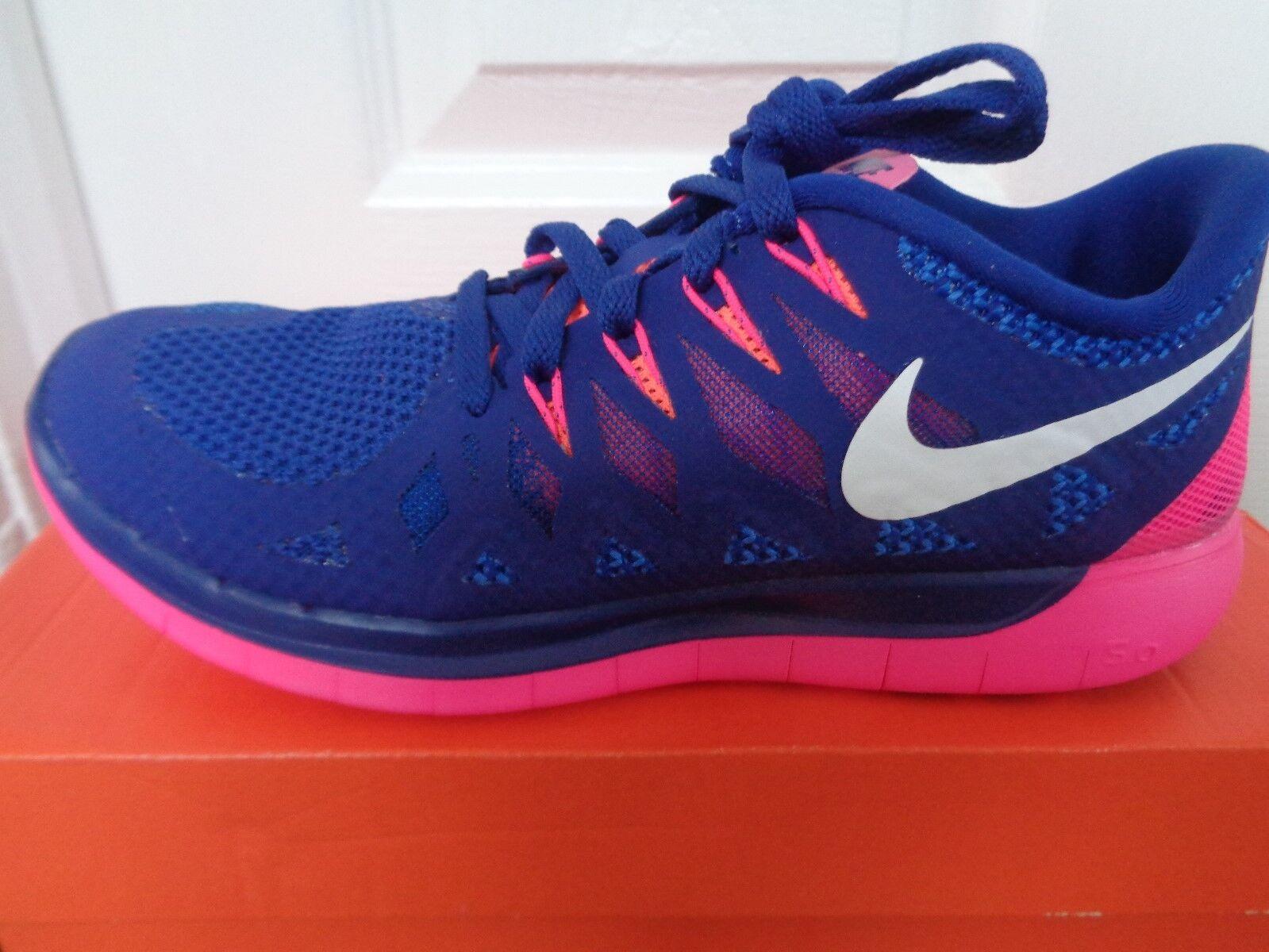 Nike Free 5.0  Femme  trainers sneakers 642199 401 uk 4 eu 37.5 us 6.5 NEW+BOX