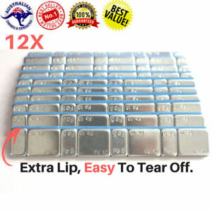 12X-5-10g-Stronger-Tape-NO-FALL-OFF-Stick-on-Wheel-balance-Weights