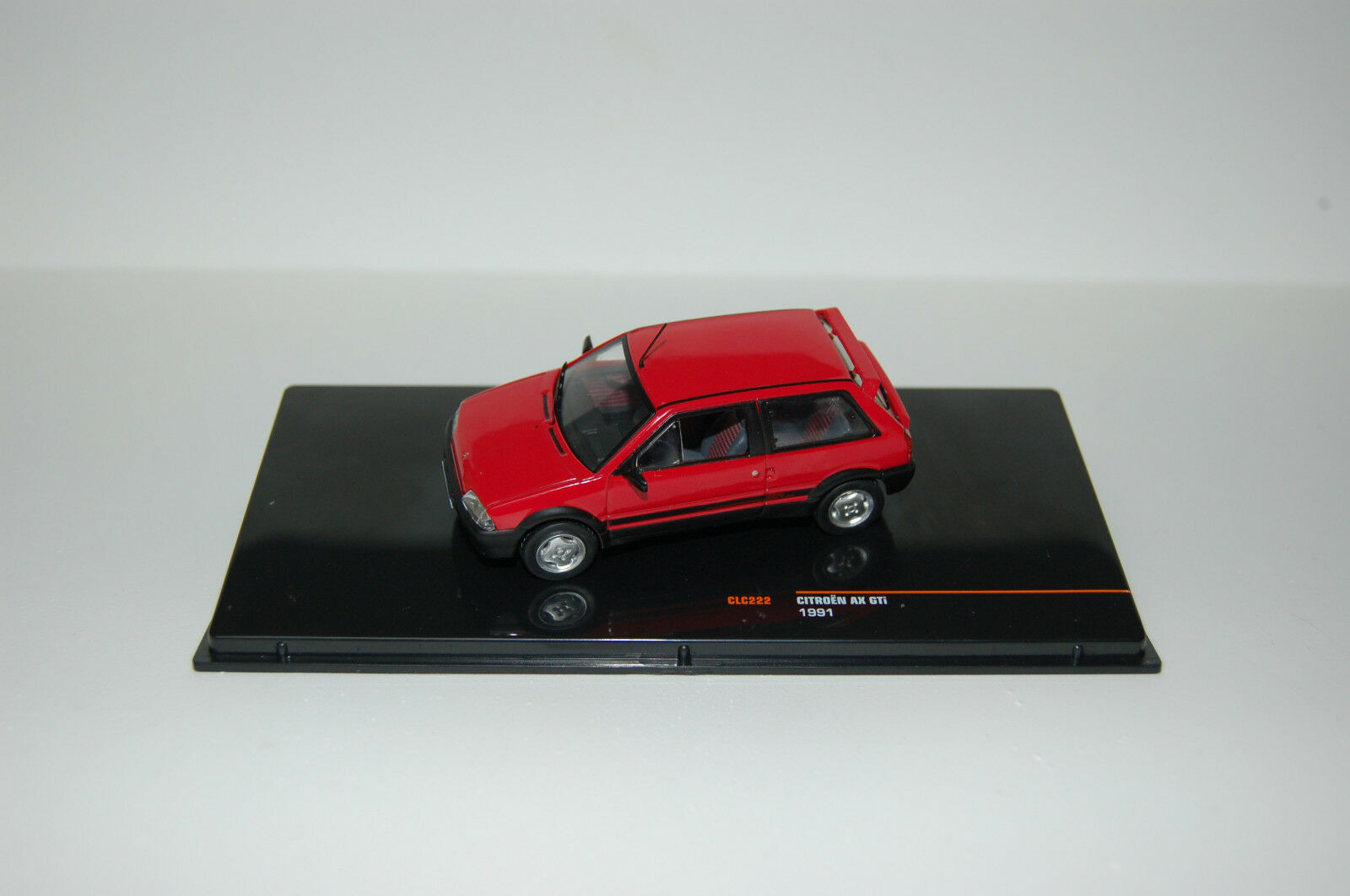 Citroën AX GTI Red IXO - IX IX IX 181769 - Echelle 1 43 NEWS AOUT 2018 e7c11c