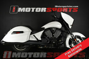 2017 Victory Motorcycles Cross Country Suede Pearl White